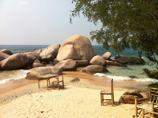 Sai Nuan Beach: Sai Thong desk :)