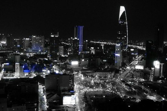 Chill Skybar: HCMC city view