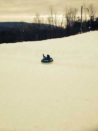 Pinegrove Family Dude Ranch: Tubing