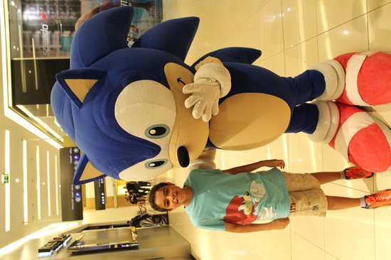 Four Points by Sheraton Sheikh Zayed Road, Dubai: My son Boody met his lovely Sonic