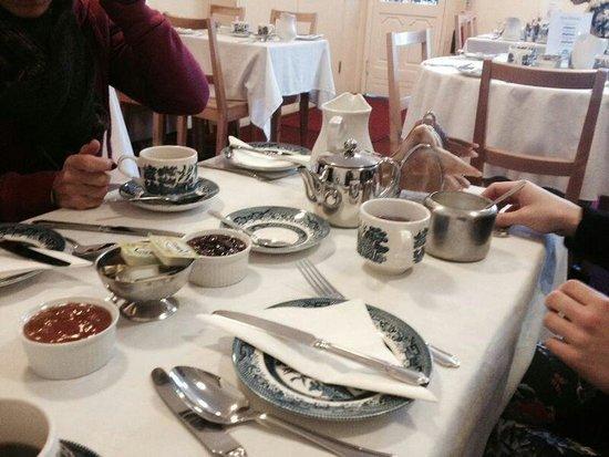 Crescent Hotel: nostro tavolo