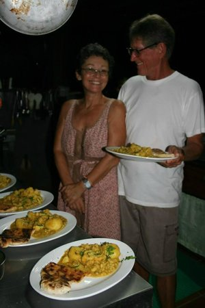 Saladero Eco Lodge: susan & harvey