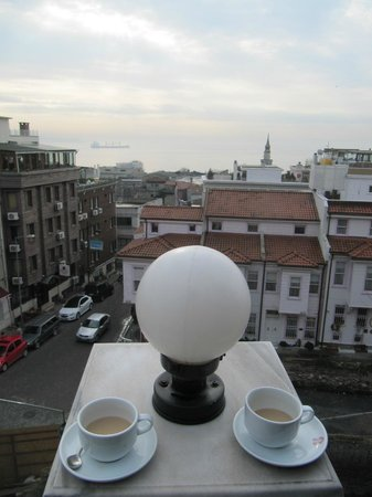 Sultanahmet Palace Hotel : view from the breakfast terrace