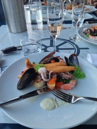 Sails Restaurant: Misto di pesce Sails