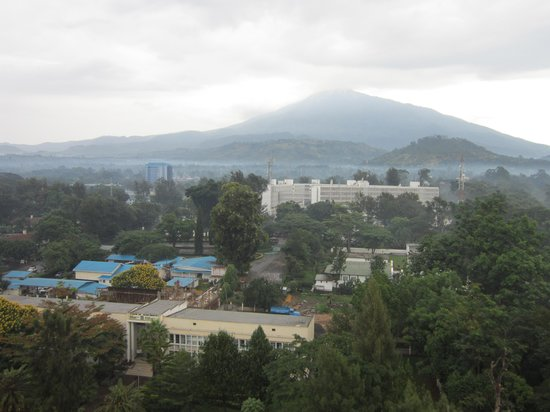 Palace Hotel Arusha: View of Mt. Meru from our room