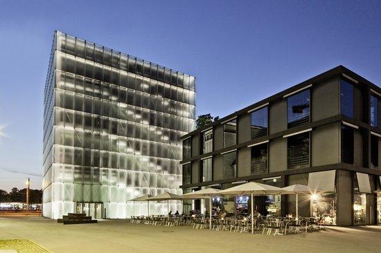 Messmer Hotel am Kornmarkt: Lage gegenüber dem Kunsthaus Bregenz
