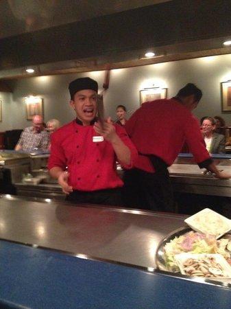 Sakura: Juggling Chef Entertainment