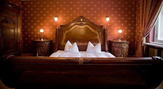 Schlosshotel Wendorf: Schlafzimmer in der Suite im Schloss
