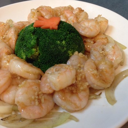 Golden Lake: Banquet Garlic Prawns