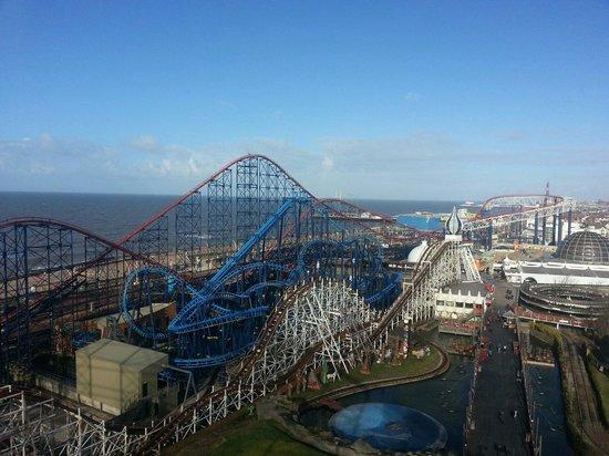 Blackpool, UK: View of Pepsi max