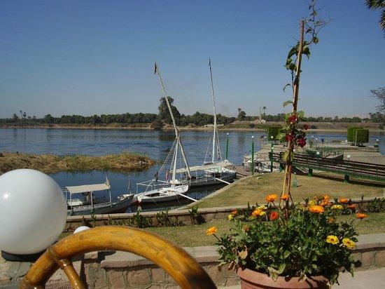 Maritim Jolie Ville Royal Peninsula Hotel & Resort: vue de la terrasse petit déjeuner