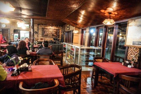 Lava View Lodge : Lava Cafe