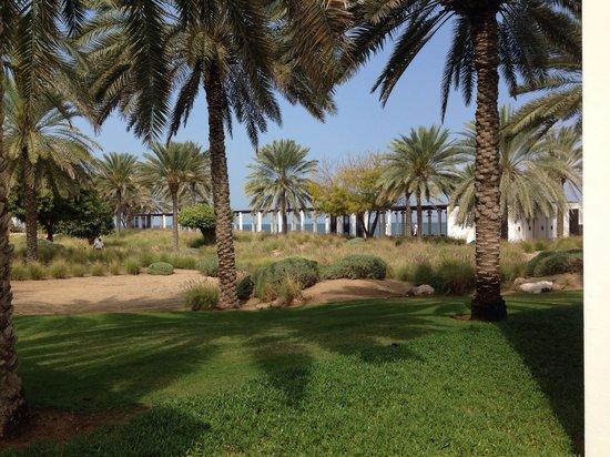The Chedi Muscat – a GHM hotel: Immer wieder eine Freude: der Garten