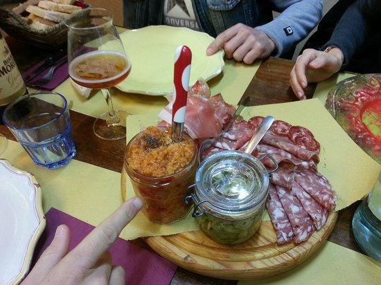 Osteria Numero Uno: Antipasto Toscano