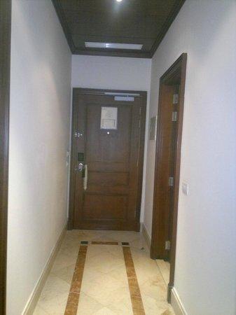 Le Patio Boutique Hotel: Suite entrance