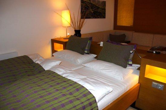 TAUERN SPA Kaprun: Panorama De Luxe Room