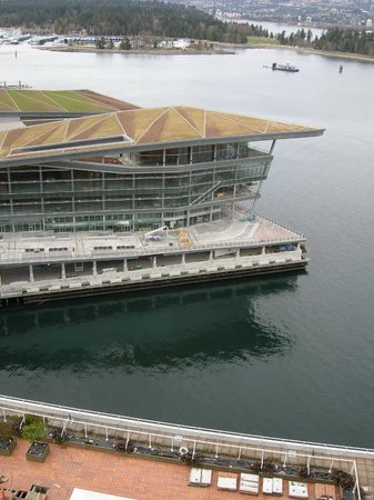 Pan Pacific Vancouver: view from room