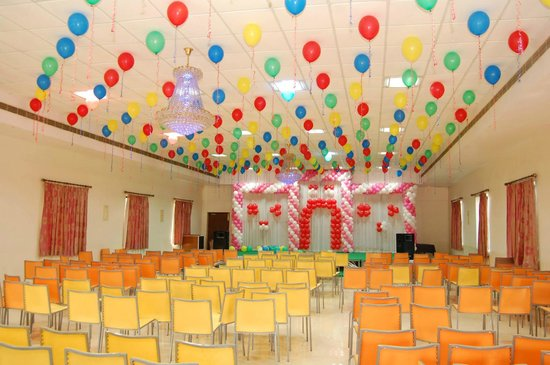 Hotel Chitturi Heritage: Function hall