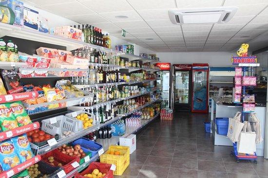 Camping Arena Blanca: Supermercado