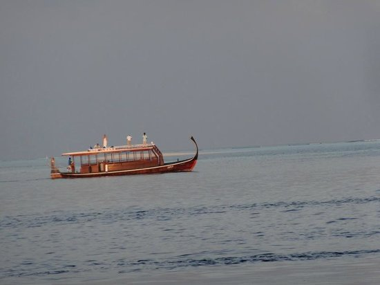 Embudu Village : transfert bateau