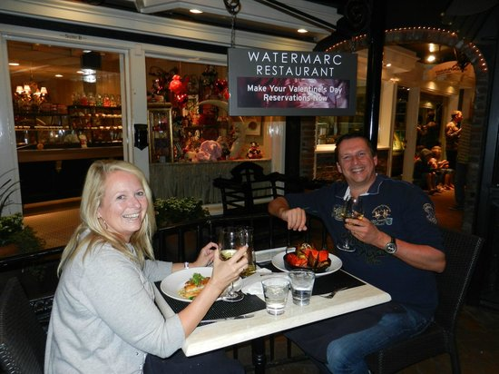 Watermarc Restaurant: Romantic place