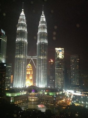 Traders Hotel, Kuala Lumpur : room with a view, Traders KL