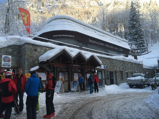 Gressoney-la-Trinite, Italy: Monterosa Ski resort