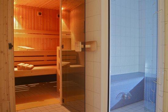 Berghotel Schiller: Tolle Sauna mit Dampfbad und Entspannungsraum