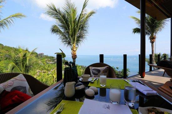 Four Seasons Resort Koh Samui Thailand: beautiful view of koh restaurant