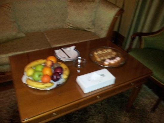 Madina Oberoi : ضيافه من الفندق