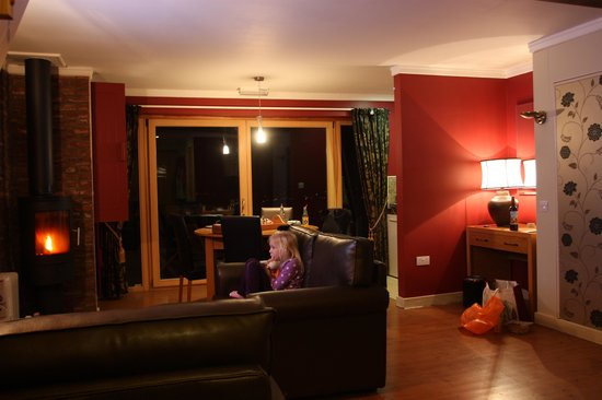 Raven Hall Hotel: cosy evening