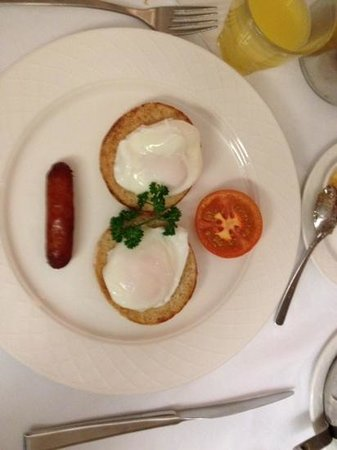 The Fairview : poched eggs