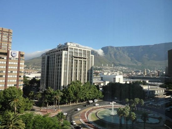 Park Inn by Radisson Cape Town Foreshore: view from my room