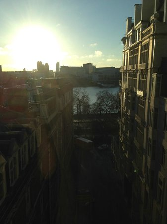The Savoy: View from the suite