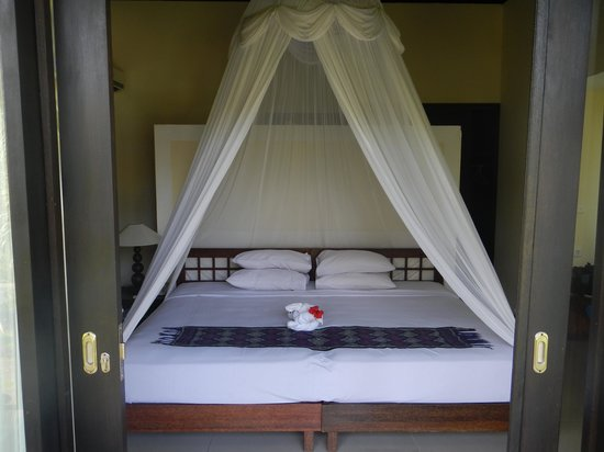 Bhanuswari Resort & Spa: Notre très grand lit