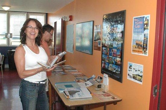 Auberge Internationale des Iles de la Madeleine : Beaucoup d'information