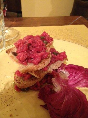 Taverna Pane e Vino: La magnifica tartare