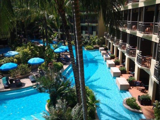 Phuket Marriott Resort & Spa, Merlin Beach: From the balcony