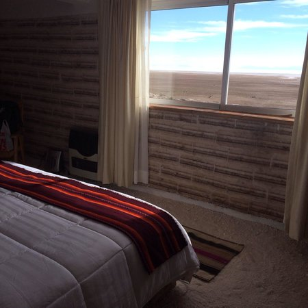Hotel de Sal Luna Salada: Bedroom view - amazing