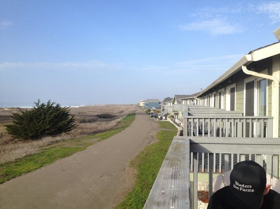 The Beachcomber Motel And Spa On Beach 10 Miles Coastal Trail Right Outside