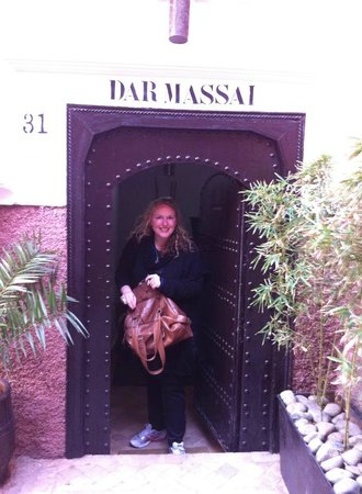Riad Dar Massai: the front door