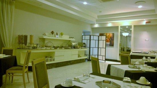 Hotel dei Borgia: Breakfast room
