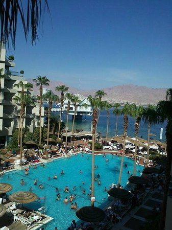 U Suites Eilat: the view from our suite