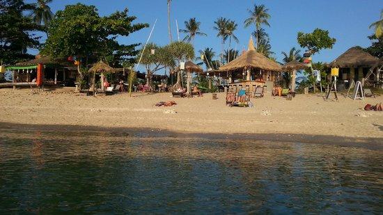 Coco Lanta Resort: Vue de la mer