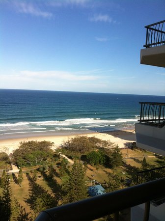 ULTIQA Beach Haven on Broadbeach: the view from our room on 19th floor