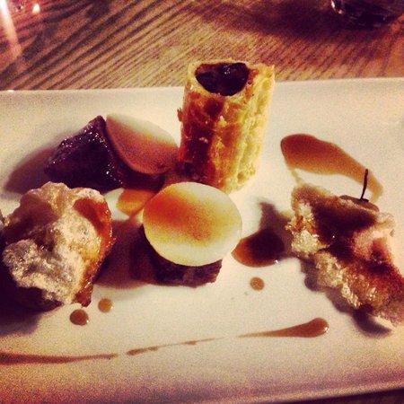 Craven Heifer - Boutique Hotel & Restaurant : Pork belly, the famous Craven Heifer sausage roll (so delicious)