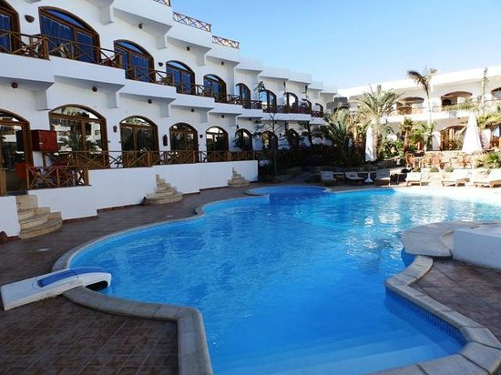 Red Sea Relax Resort: Pool area at hotel