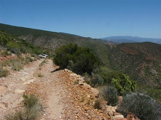 West Coast National Park, Zuid-Afrika: At the view point