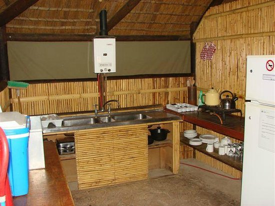 Gamkaberg Nature Reserve: Communal kitchen