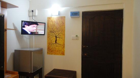 VJ City Hotel: Room interior